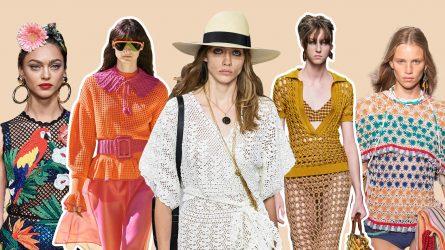 Xu hướng thời trang 2020: Muôn màu kiểu đồ đan móc cho mùa Hè