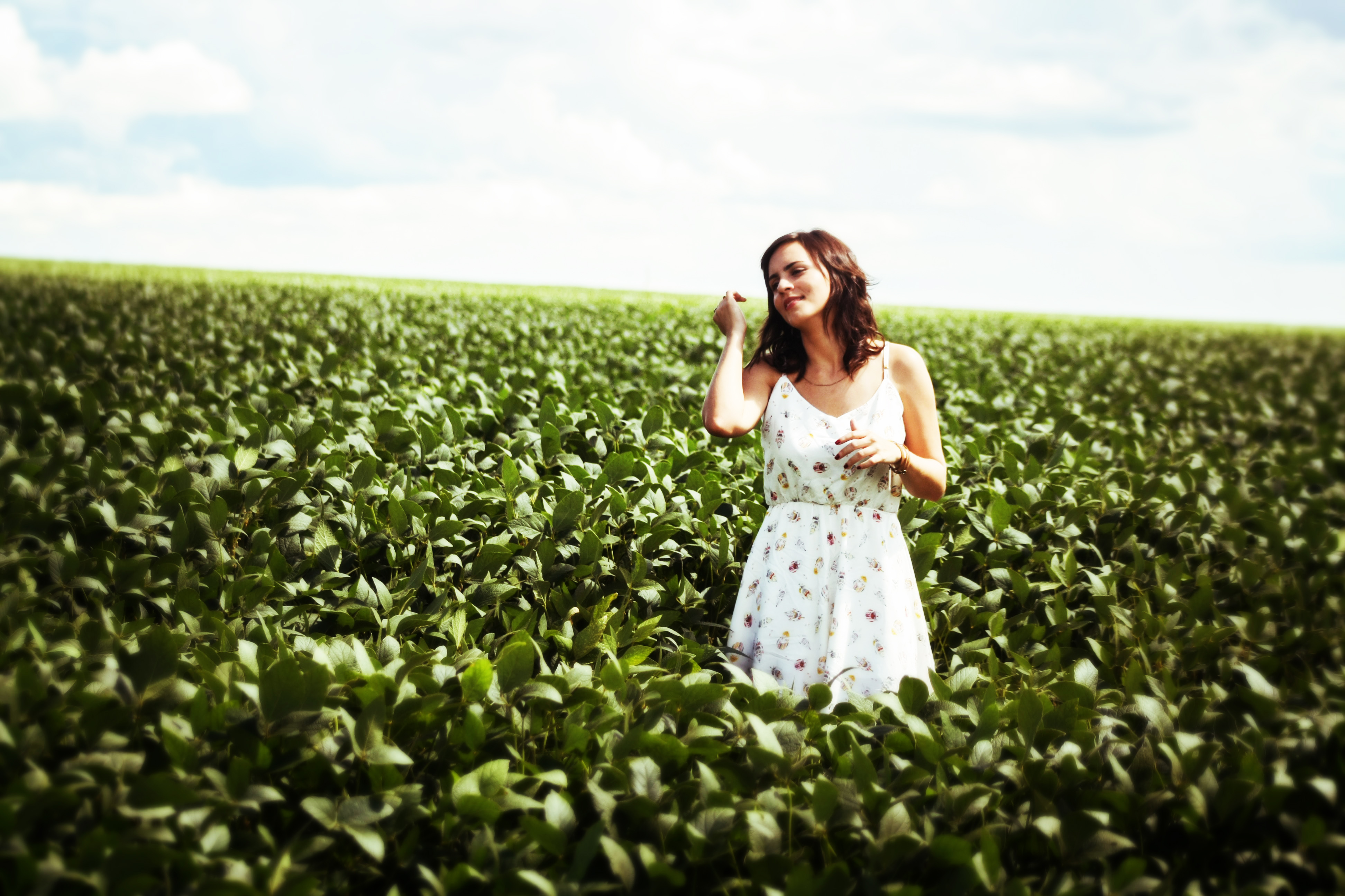 cô gái vườn rau kỳ vọng