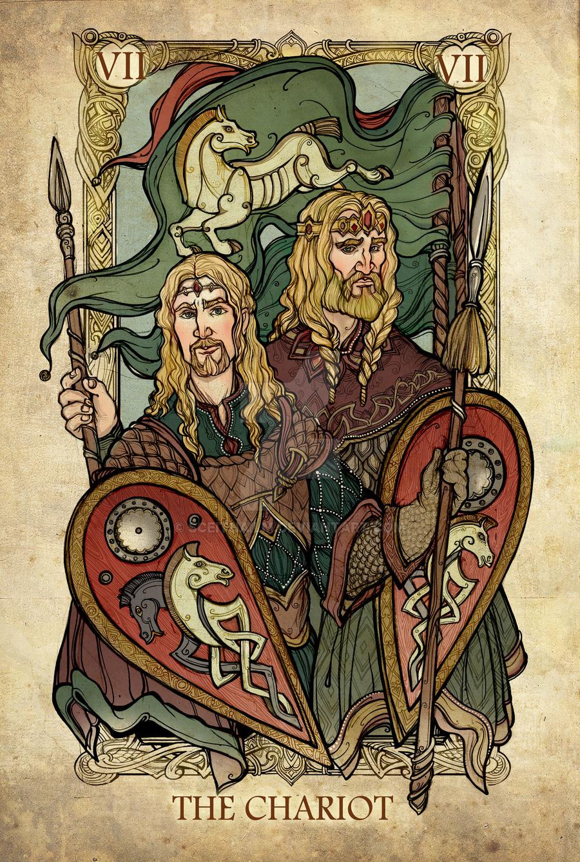 bài tarot cung hoàng đạo cự giải
