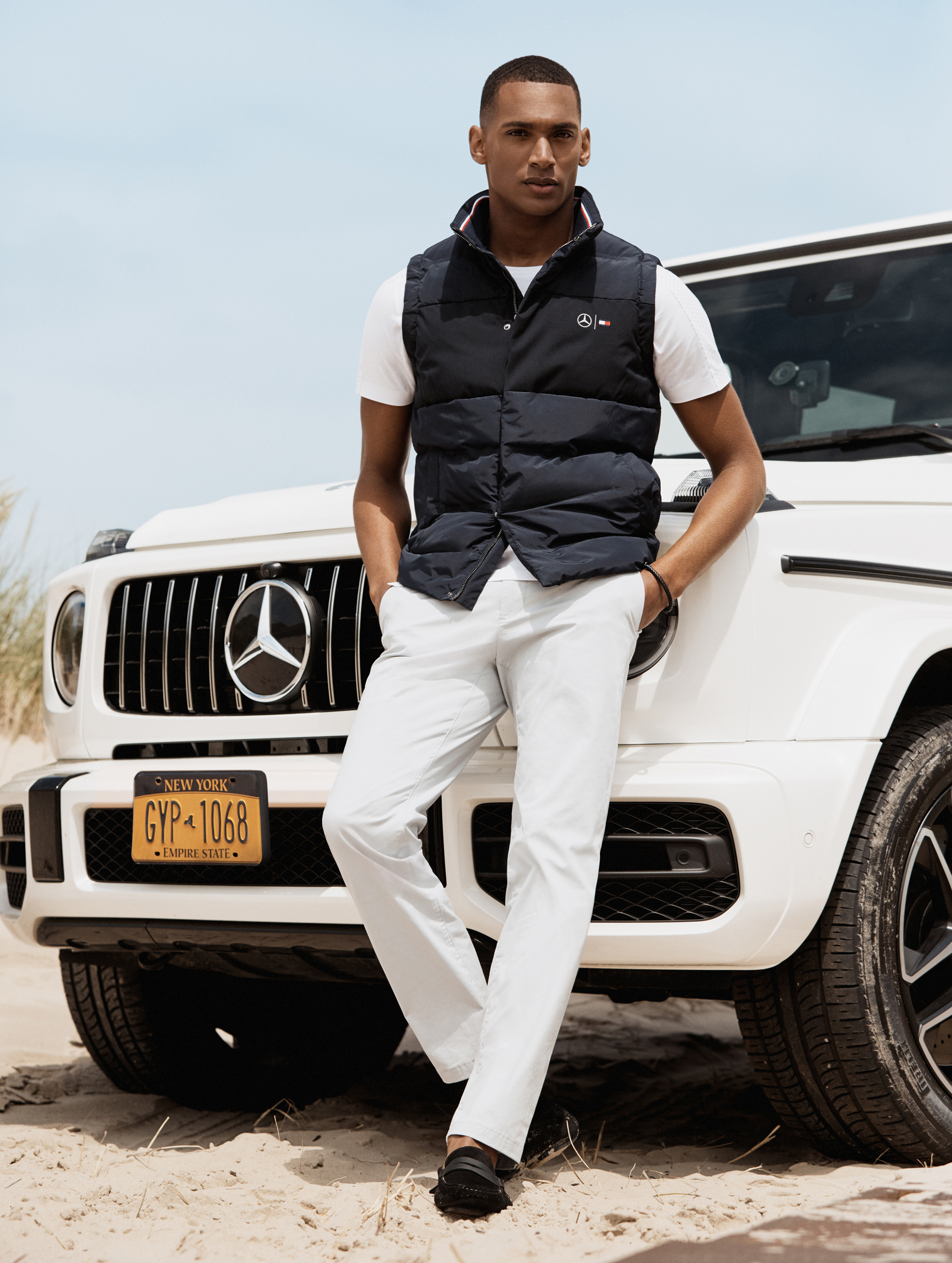tommy hilfiger x mercedes-benz look book 1