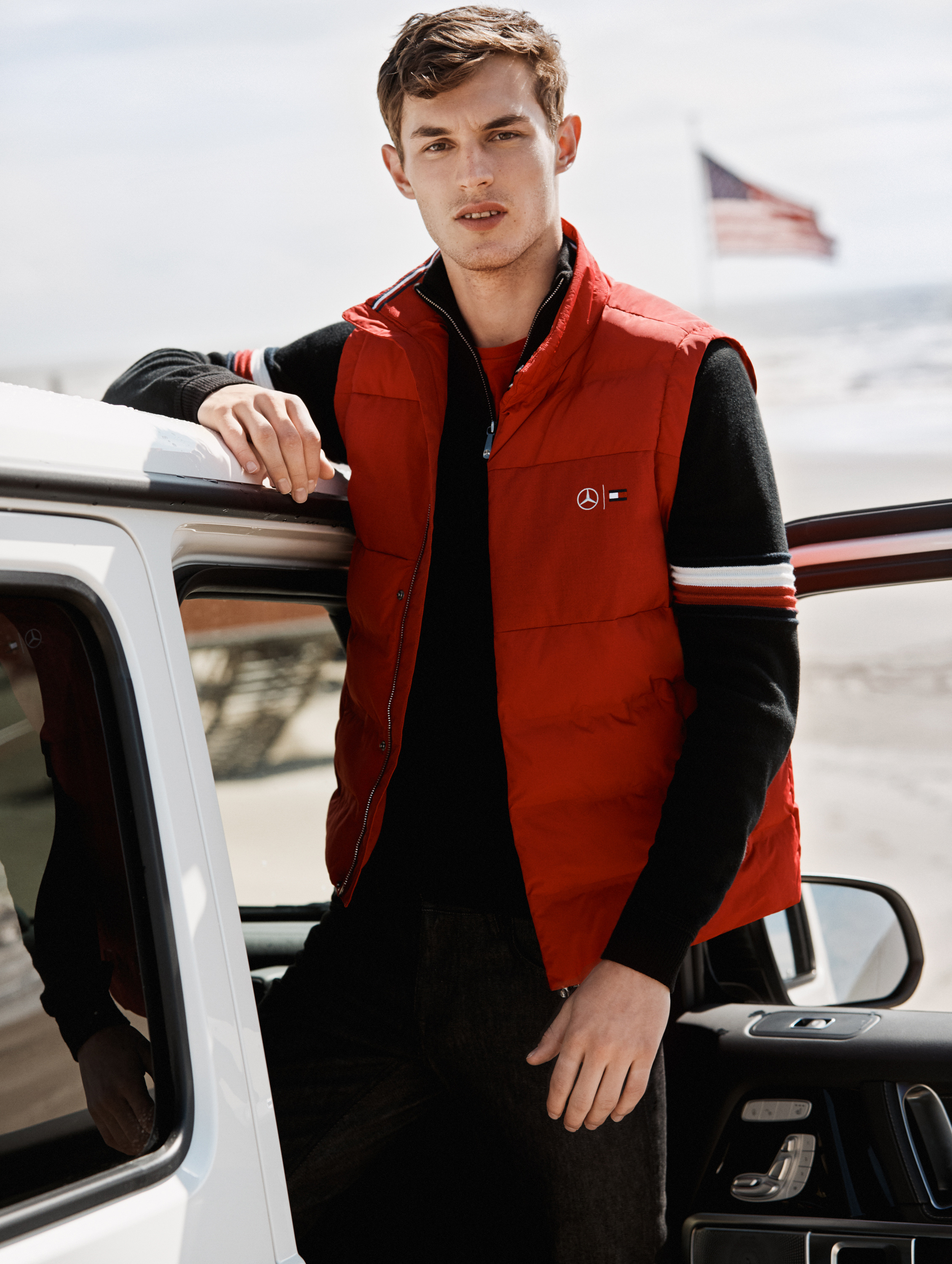 tommy hilfiger x mercedes-benz look book 2 Kit Butler