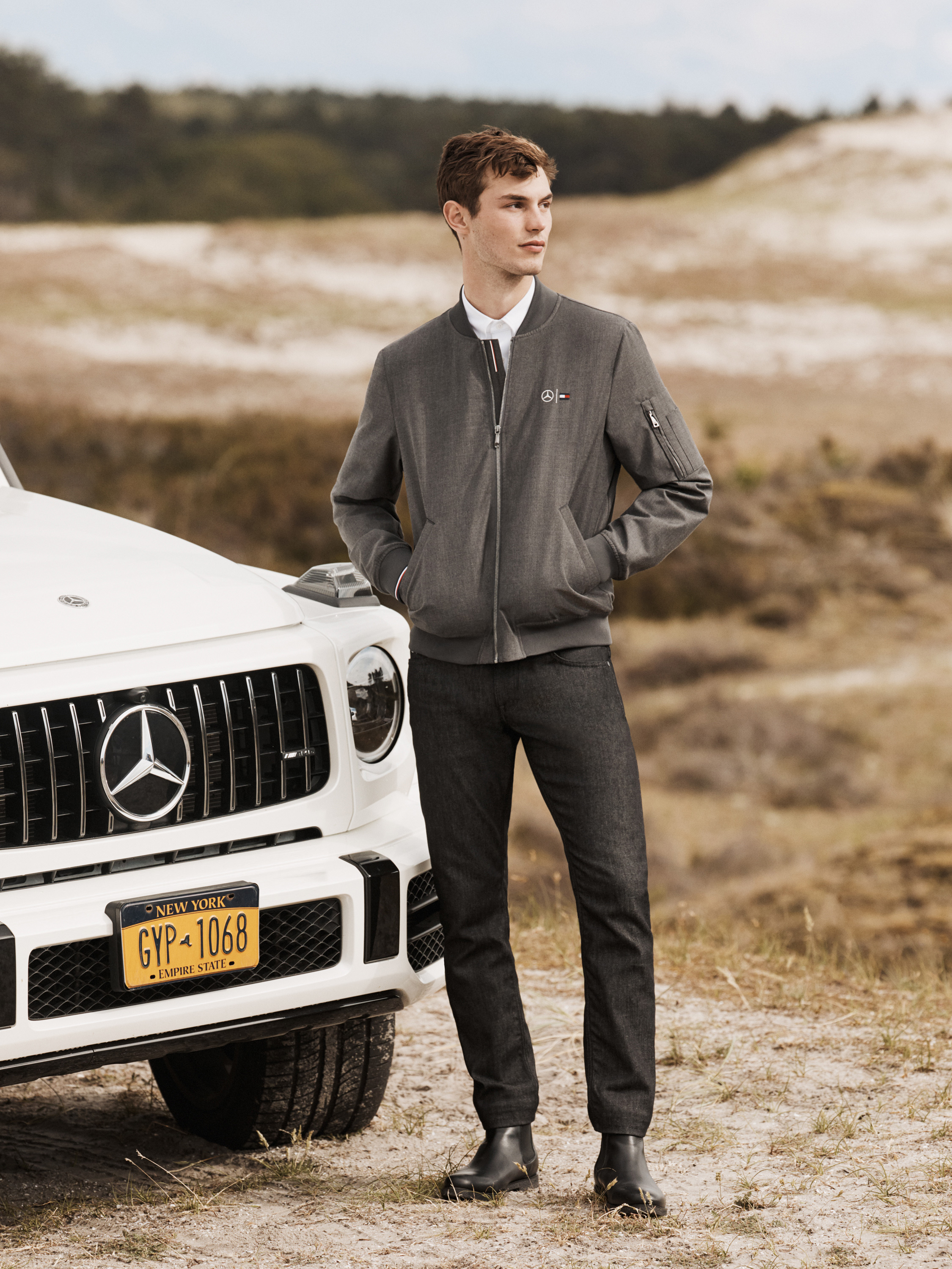 tommy hilfiger x mercedes-benz look book 4