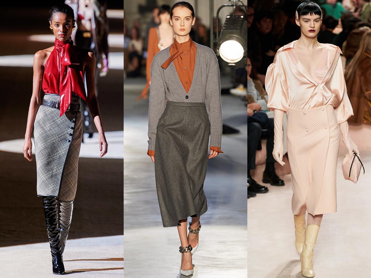 Một vài mẫu chân váy bút chì từ Tuần lễ thời trang Thu - Đông 2020