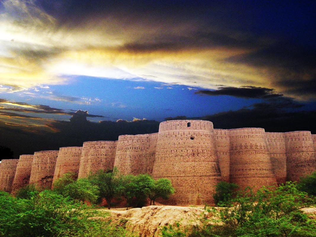 pháo đài Derawar Fort, Pakistan