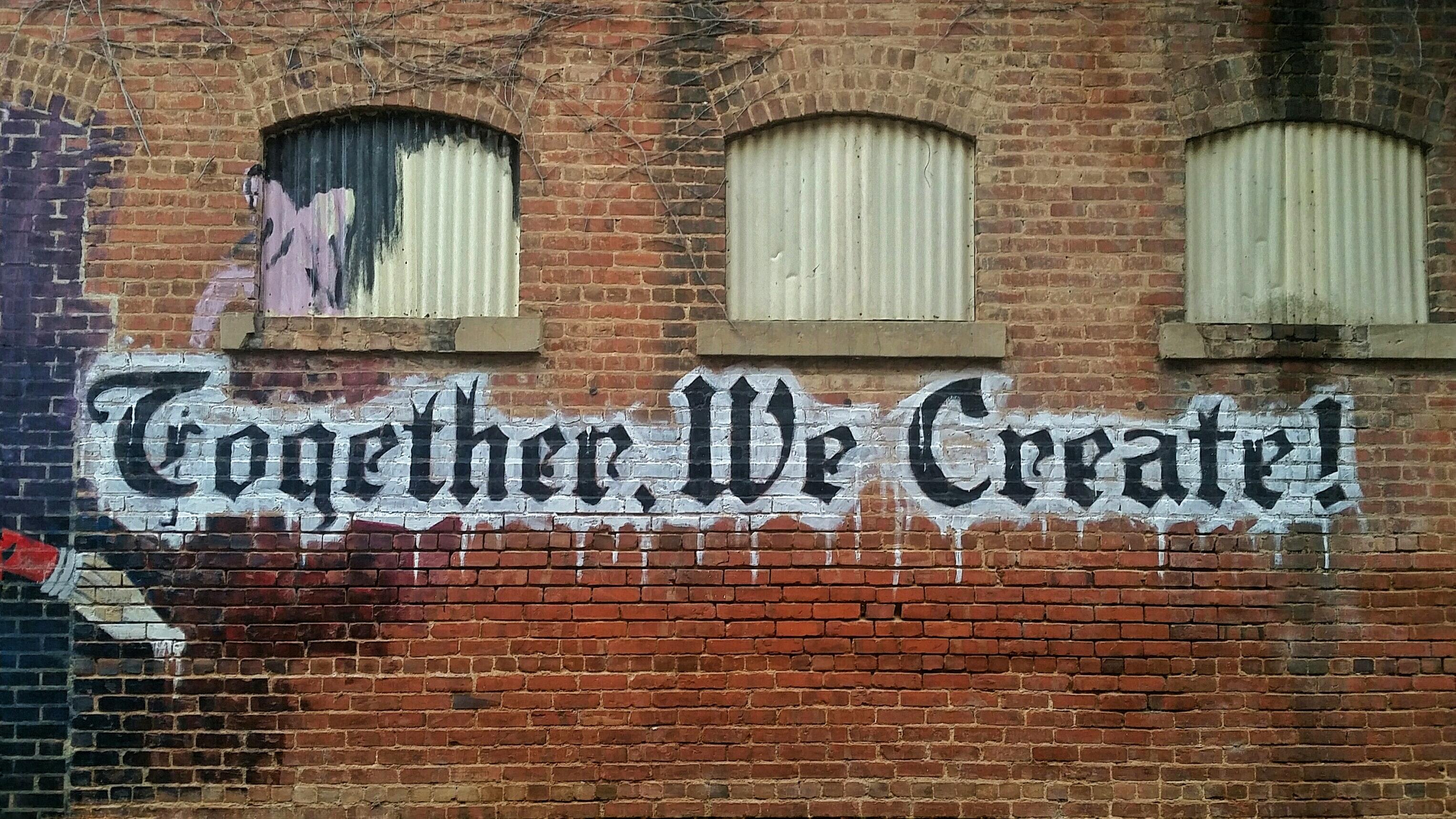 sáng tạo bức tường