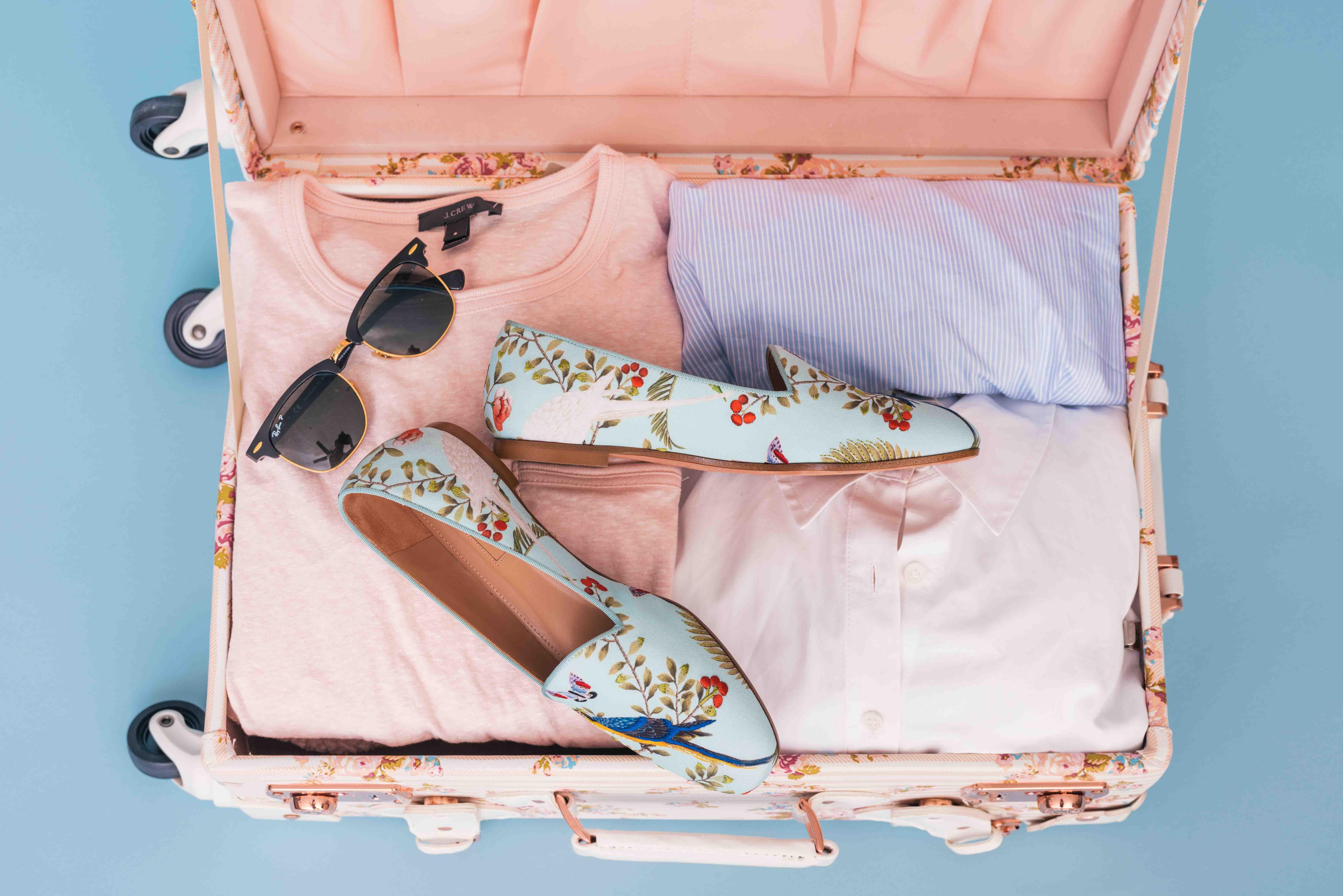 câu nói hay vali du lịch