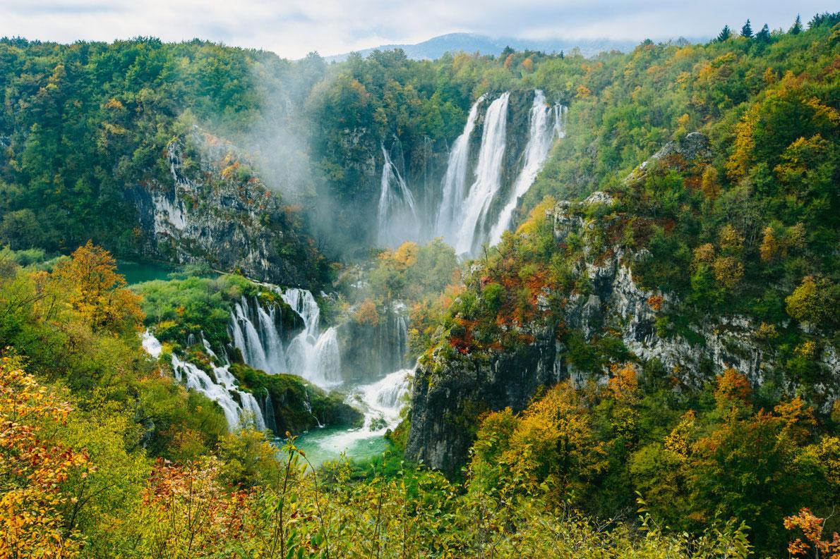 vườn quốc gia plitvice ở châu Âu
