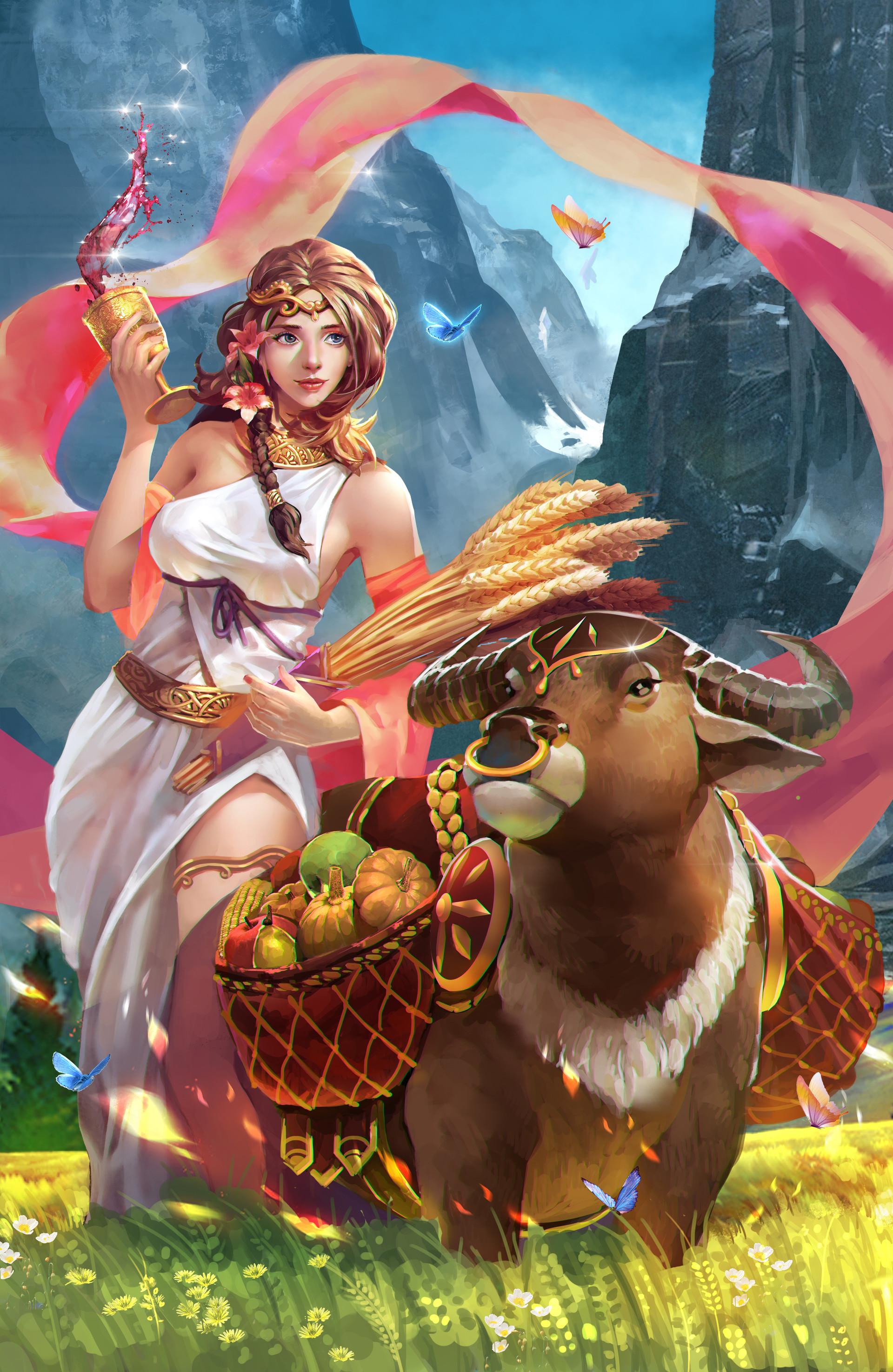 cung hoàng đạo nữ thần Demeter