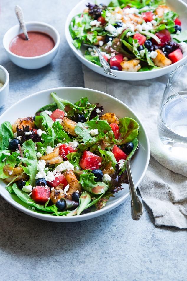 những món salad có thể thêm dầu oliu