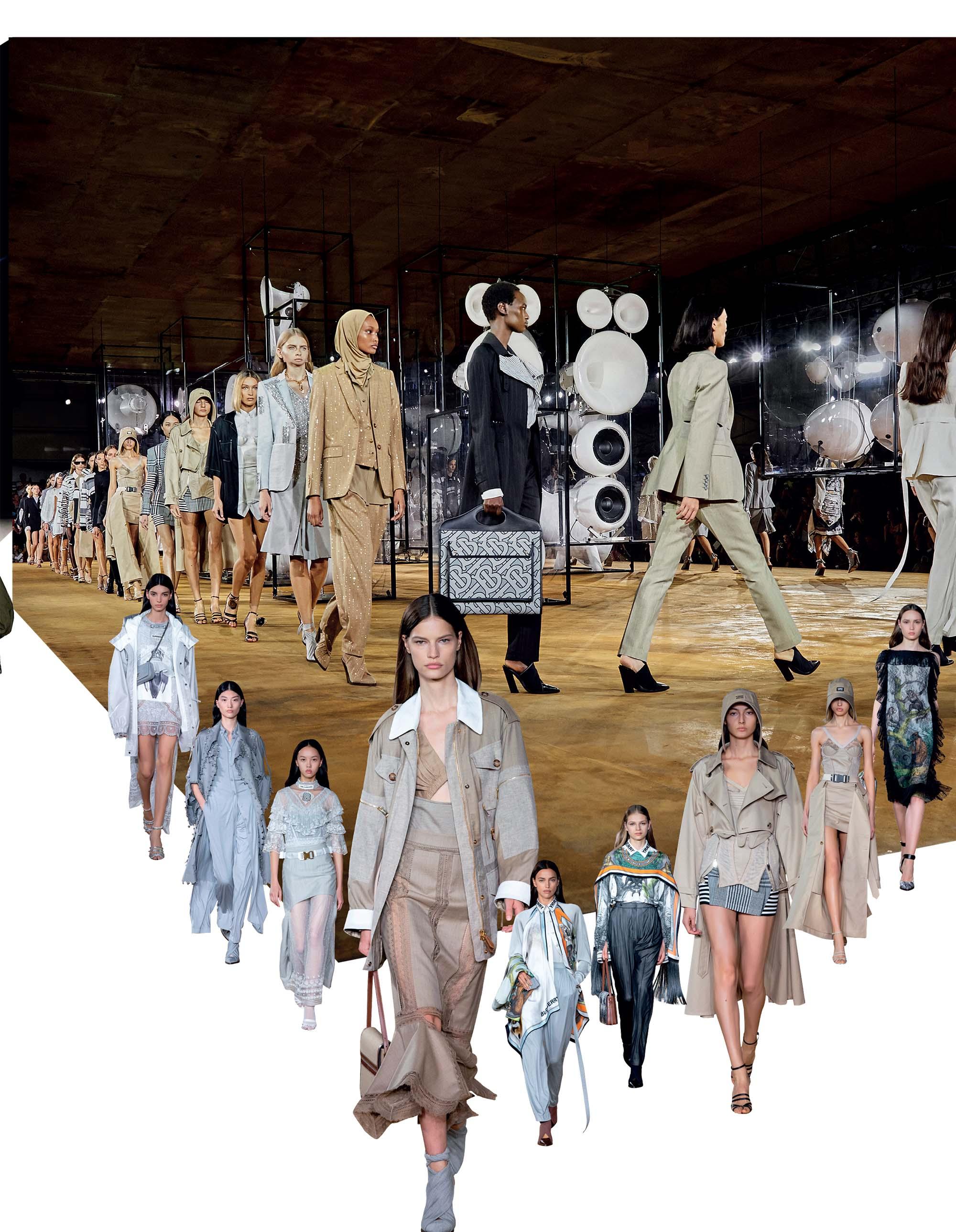 bst thời trang Xuân Hè 2020 Burberry
