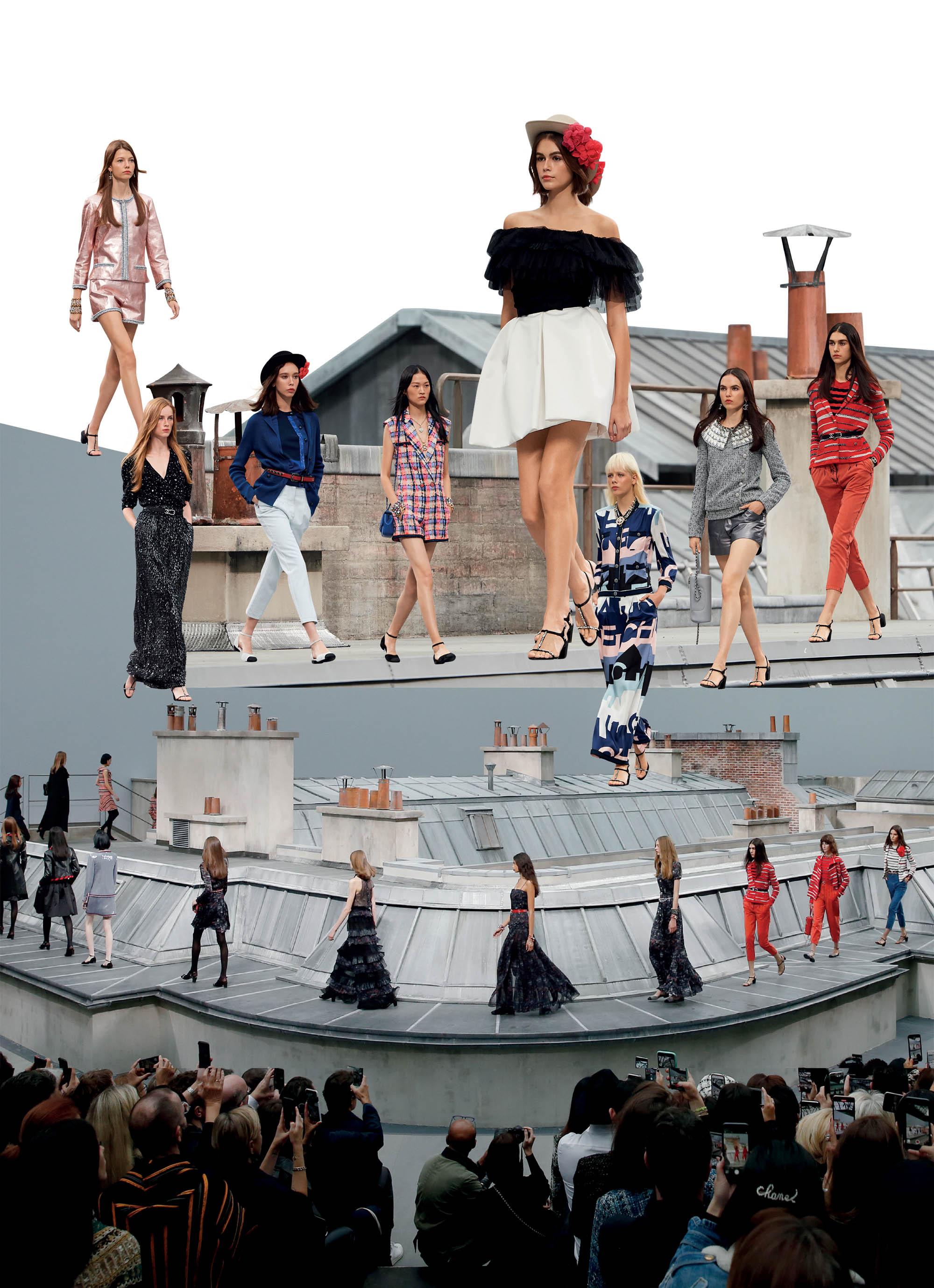 bst thời trang Xuân Hè 2020 Chanel