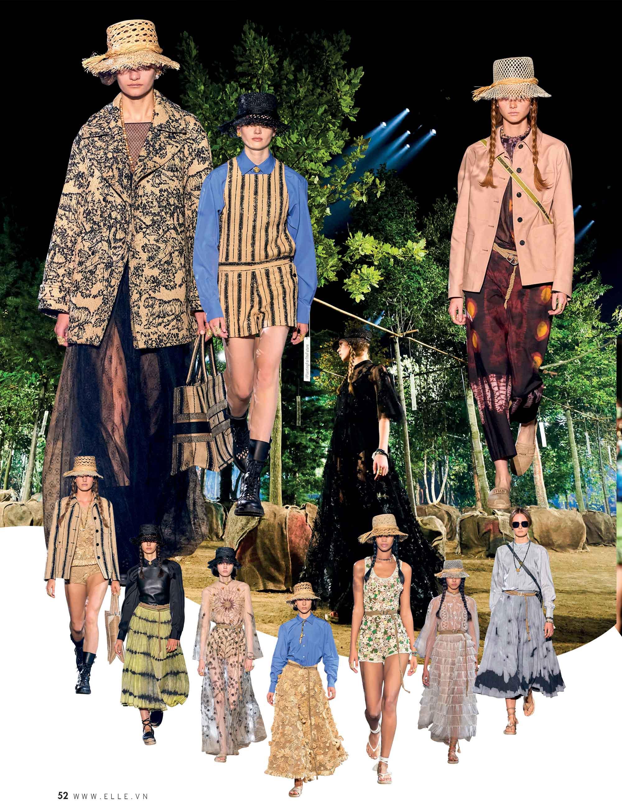 bst thời trang Xuân Hè 2020 Dior
