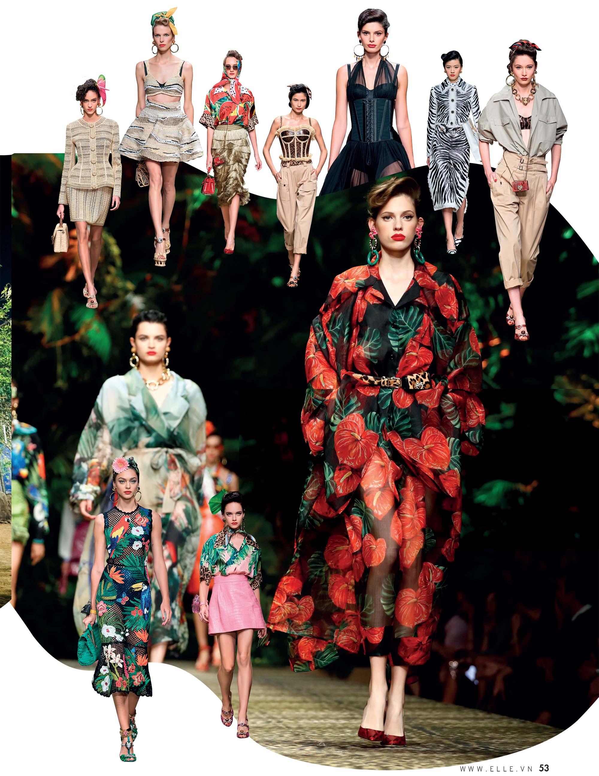 bst thời trang Xuân Hè 2020 Dolce Gabbana