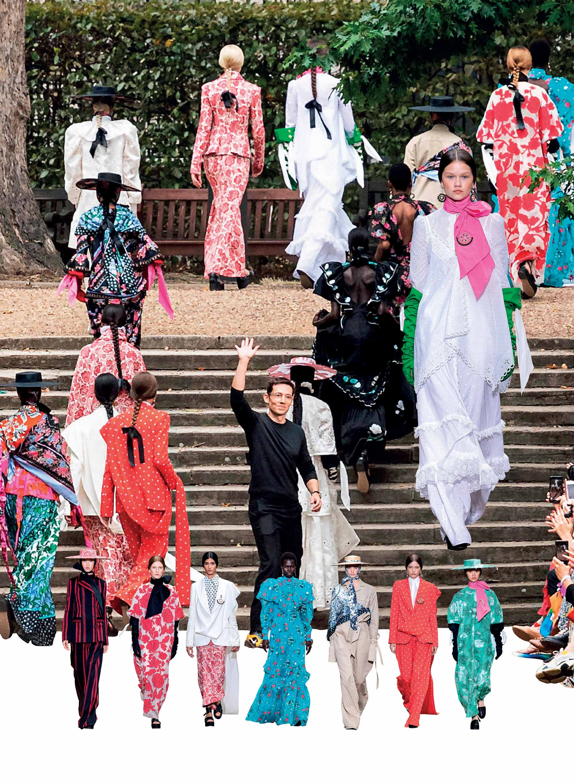 bst thời trang Xuân Hè 2020 Erdem