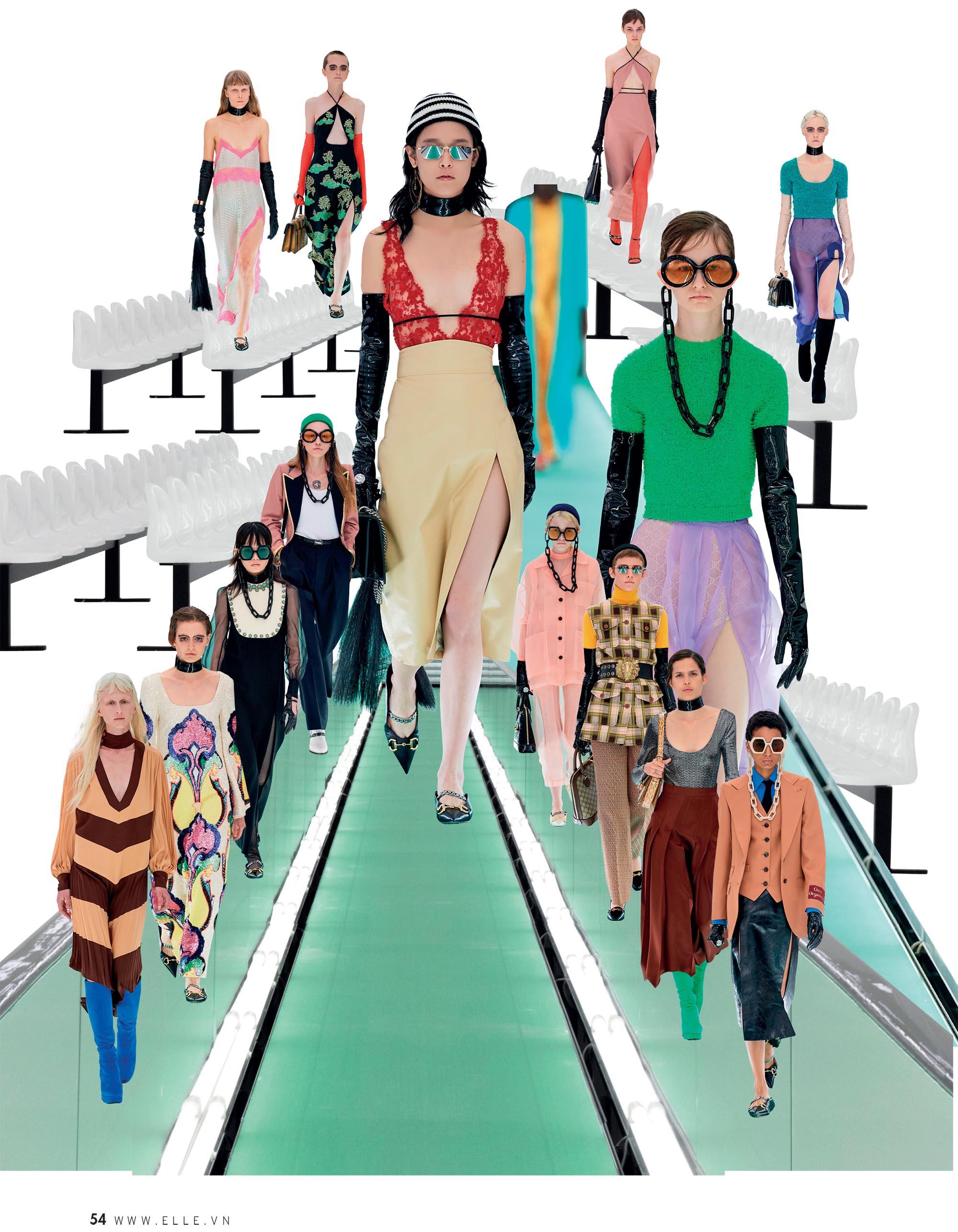 bst thời trang Xuân Hè 2020 Dolce Gucci