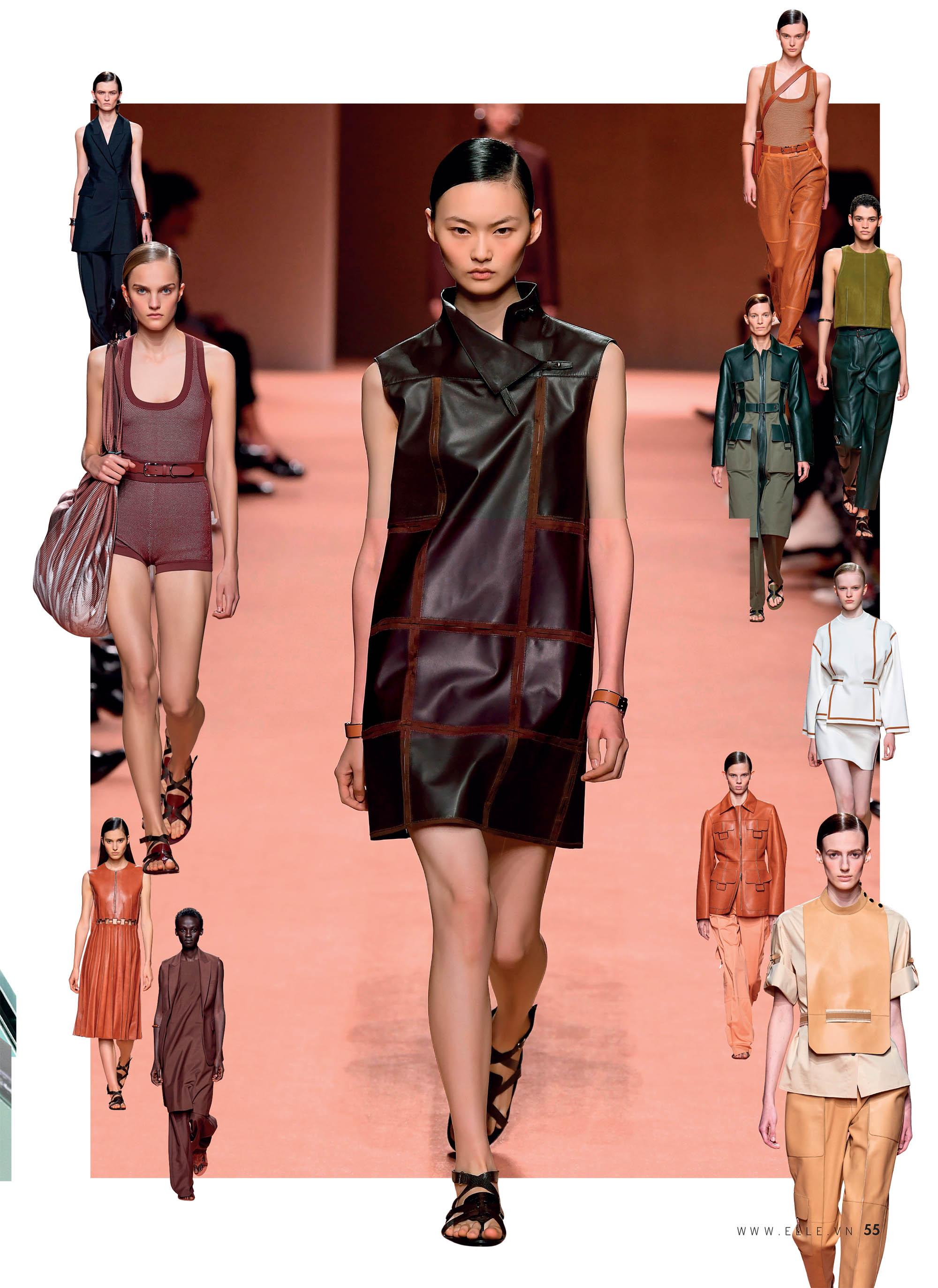 bst thời trang Xuân Hè 2020 Dolce Hermes