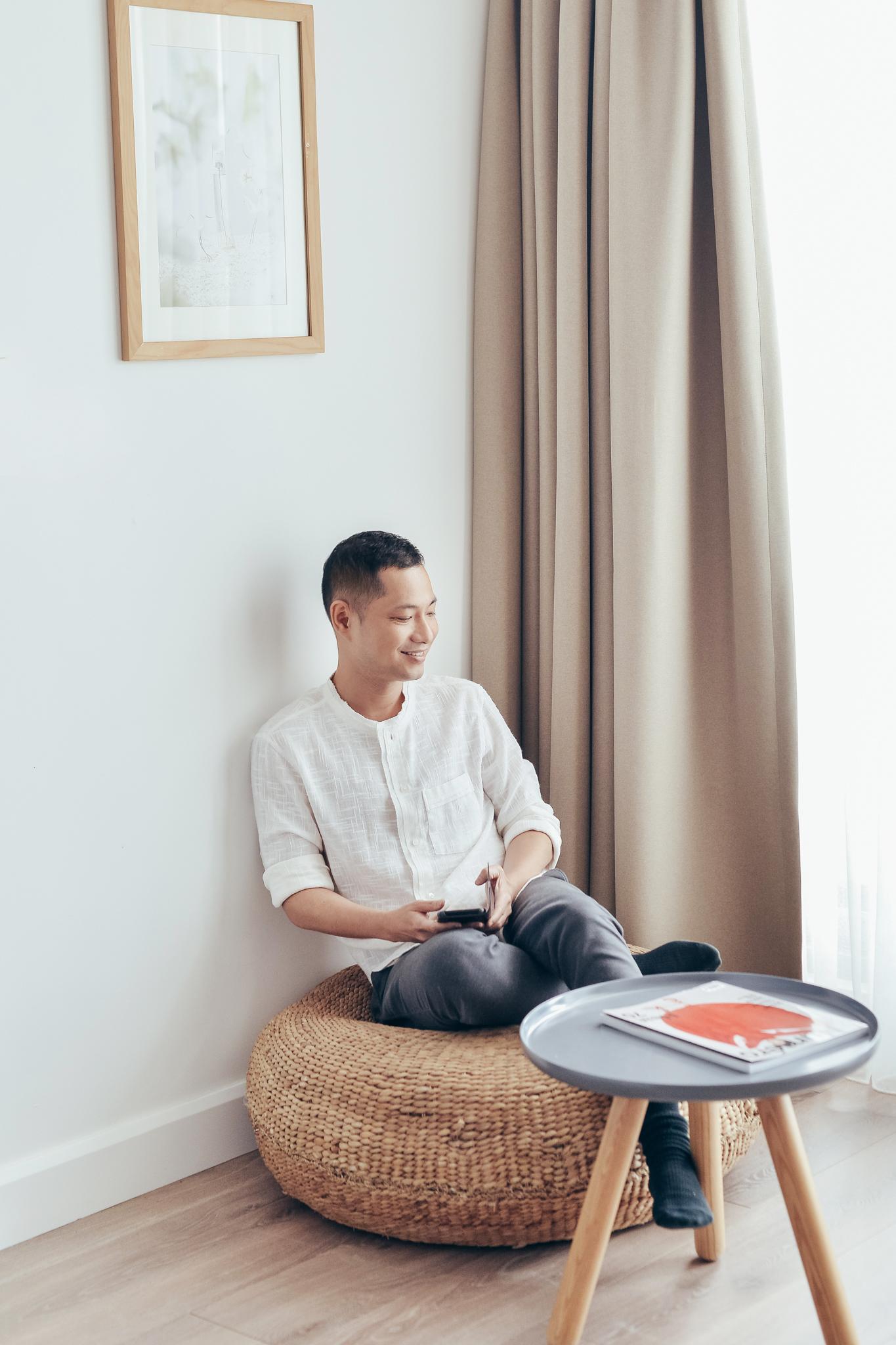 gợi ý mặc đẹp khi làm việc tại nhà của Dzung Yoko