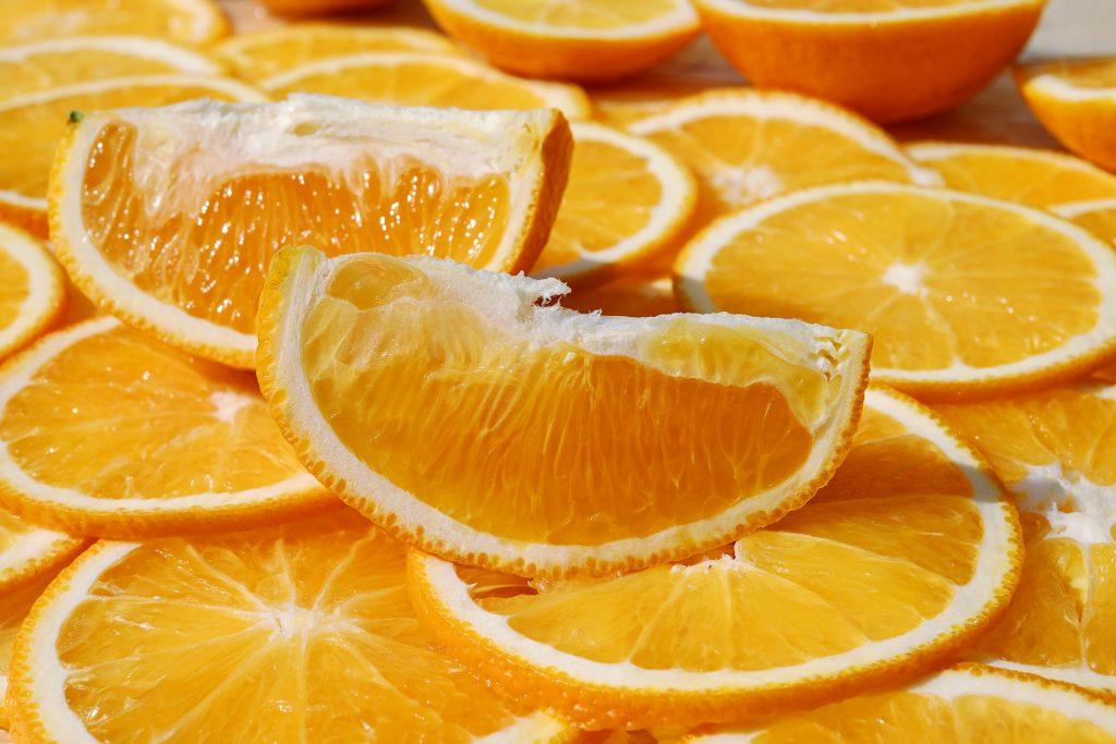 Công thức tẩy da chết từ đường và vỏ cam.