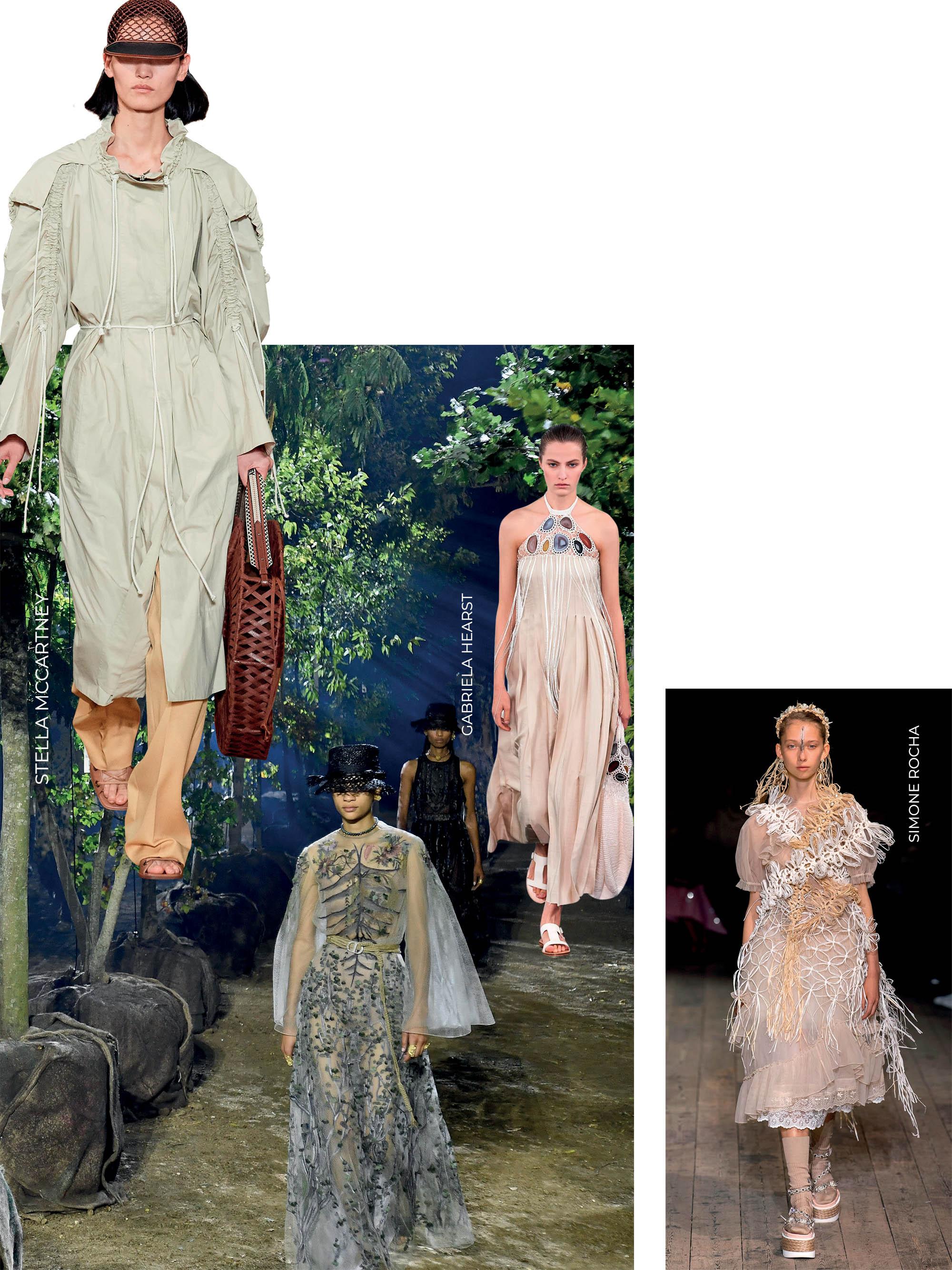 chất liệu tái chế trong bộ sưu tập Xuân Hè của các thương hiệu thời trang