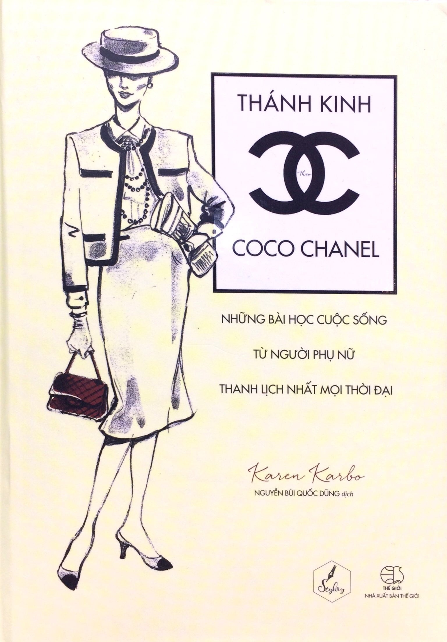sách thời trang thánh kinh theo coco chanel karren karbo