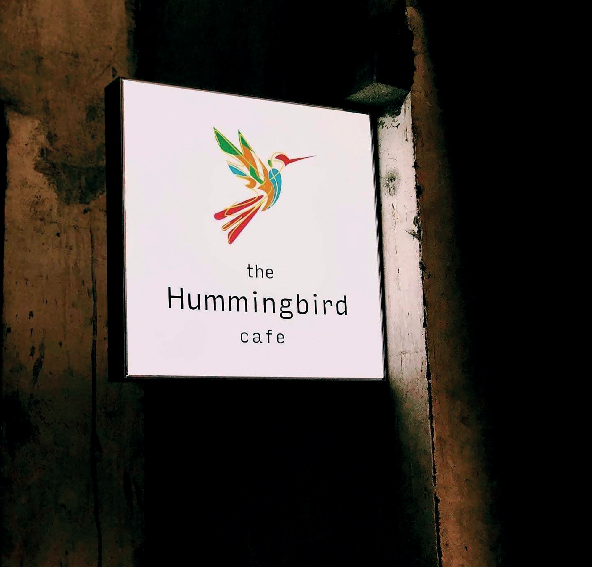 địa điểm cafe the hummingbird