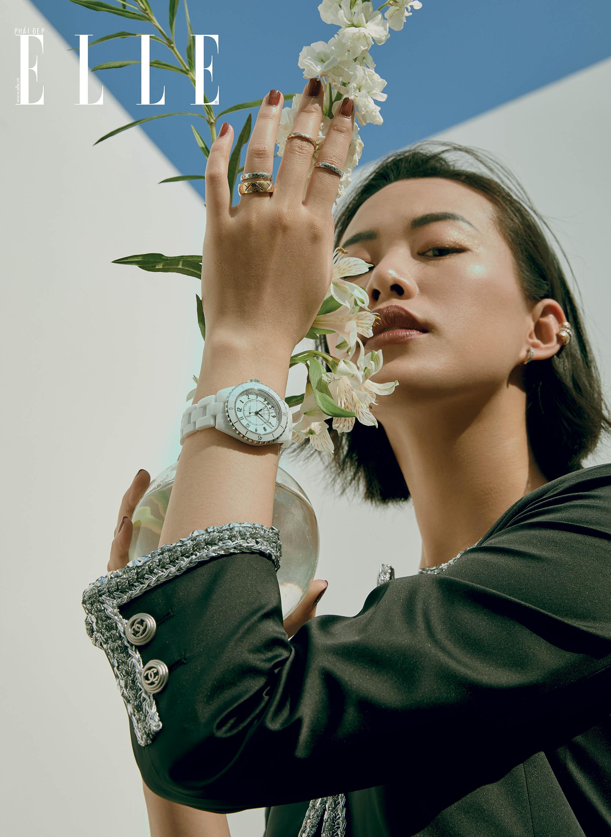 trang sức người mẫu Thu Hường