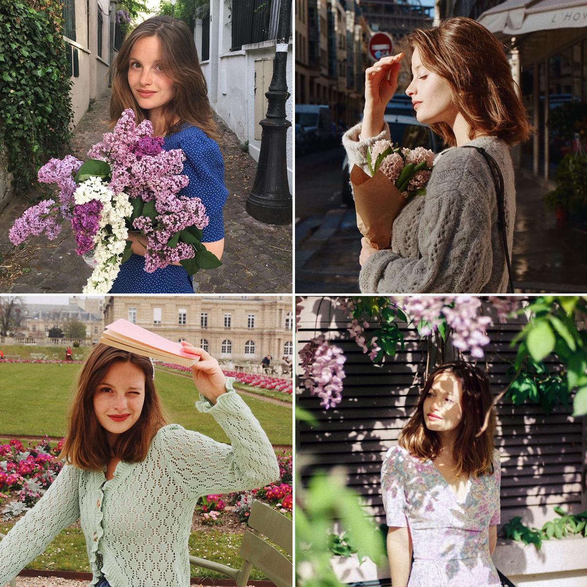 Phong cách thời trang Pháp của Camille Yolaine