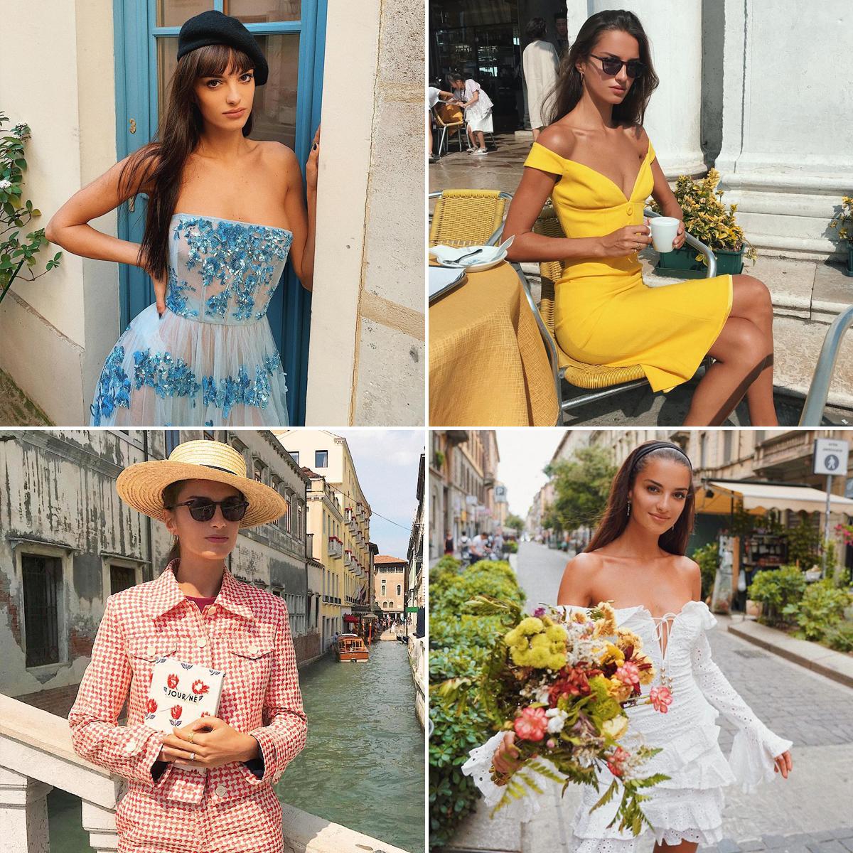 Phong cách thời trang Pháp của Gabrielle Caunesil