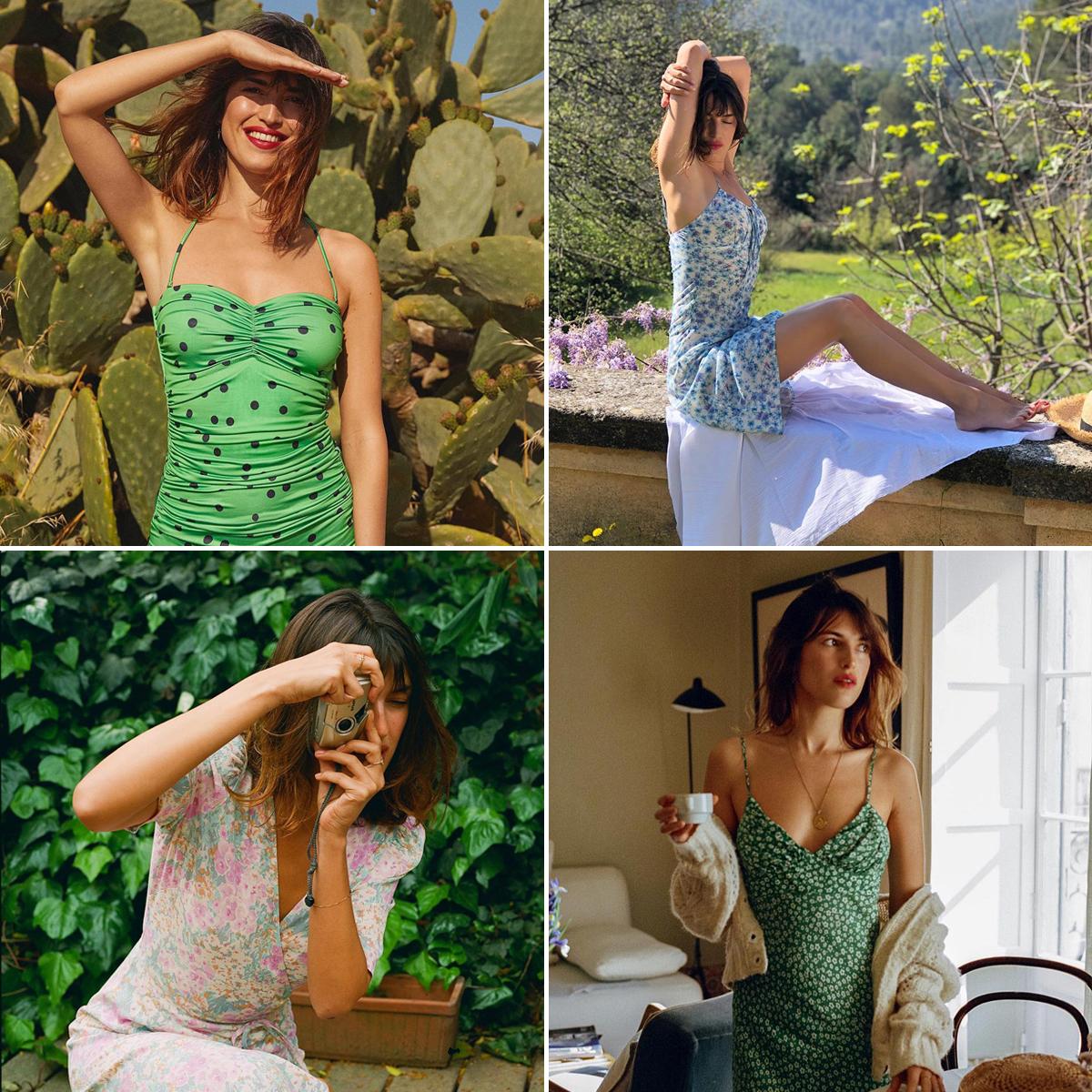 Phong cách thời trang Pháp mùa Hè của Jeanne Damas