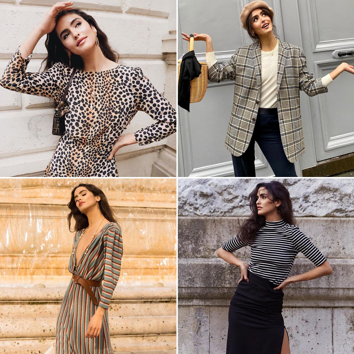 Phong cách thời trang Pháp của Juny Breeze