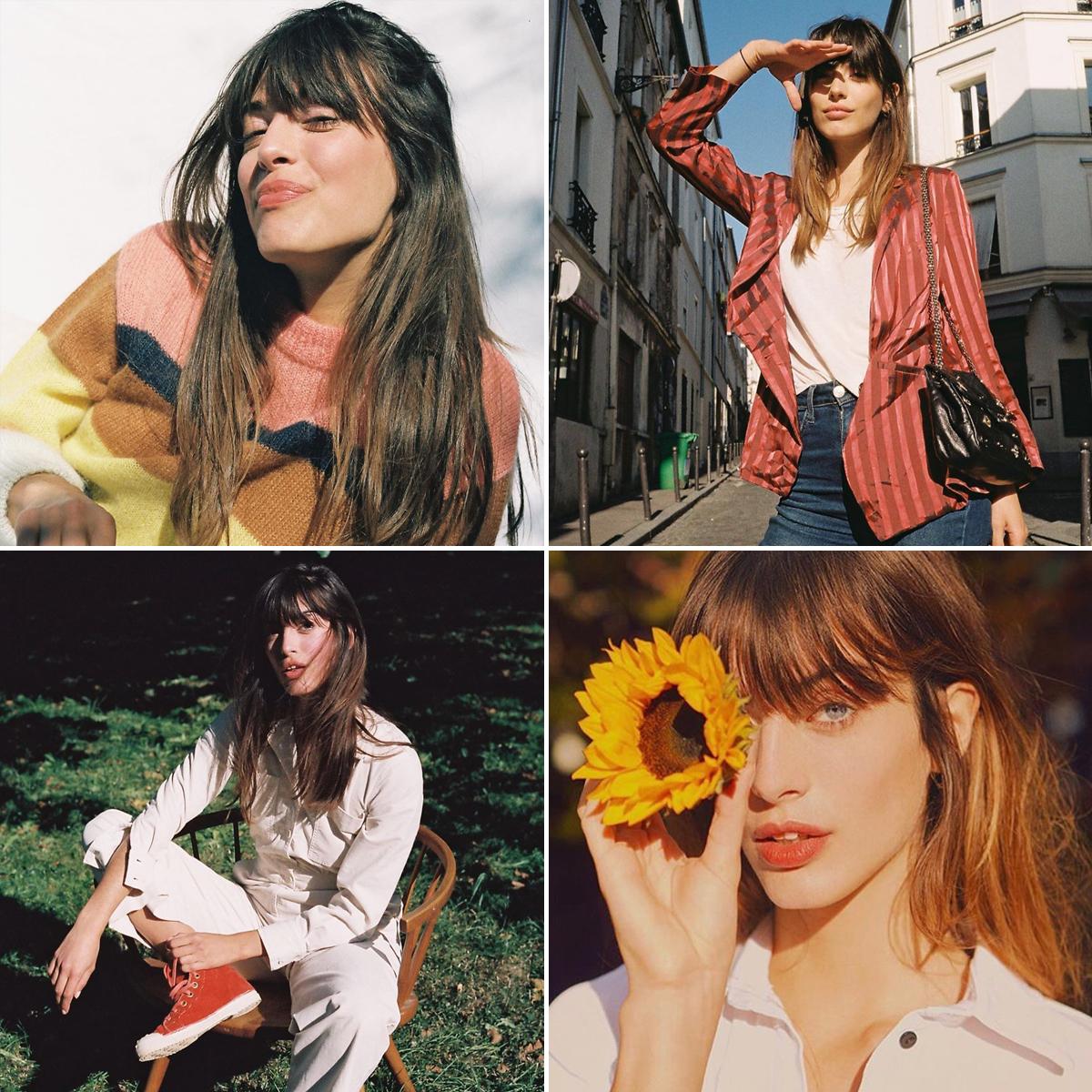 Phong cách thời trang Pháp của Louise Follain