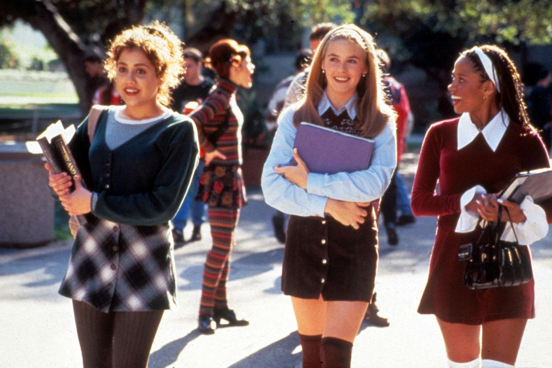 thời trang trong phim clueless trang phục đi học