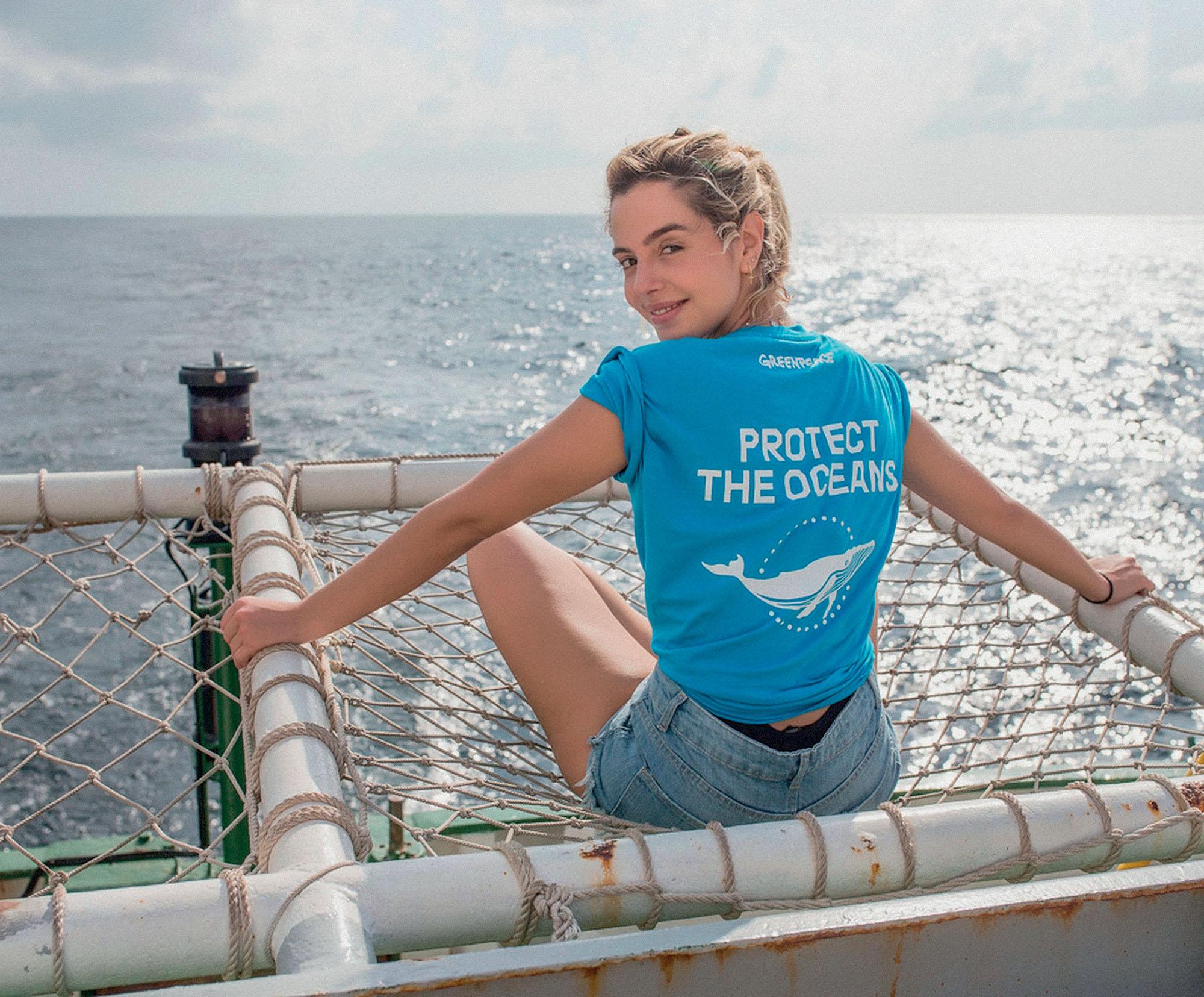 đại dương nữ diễn viên Giovanna Lancellotti