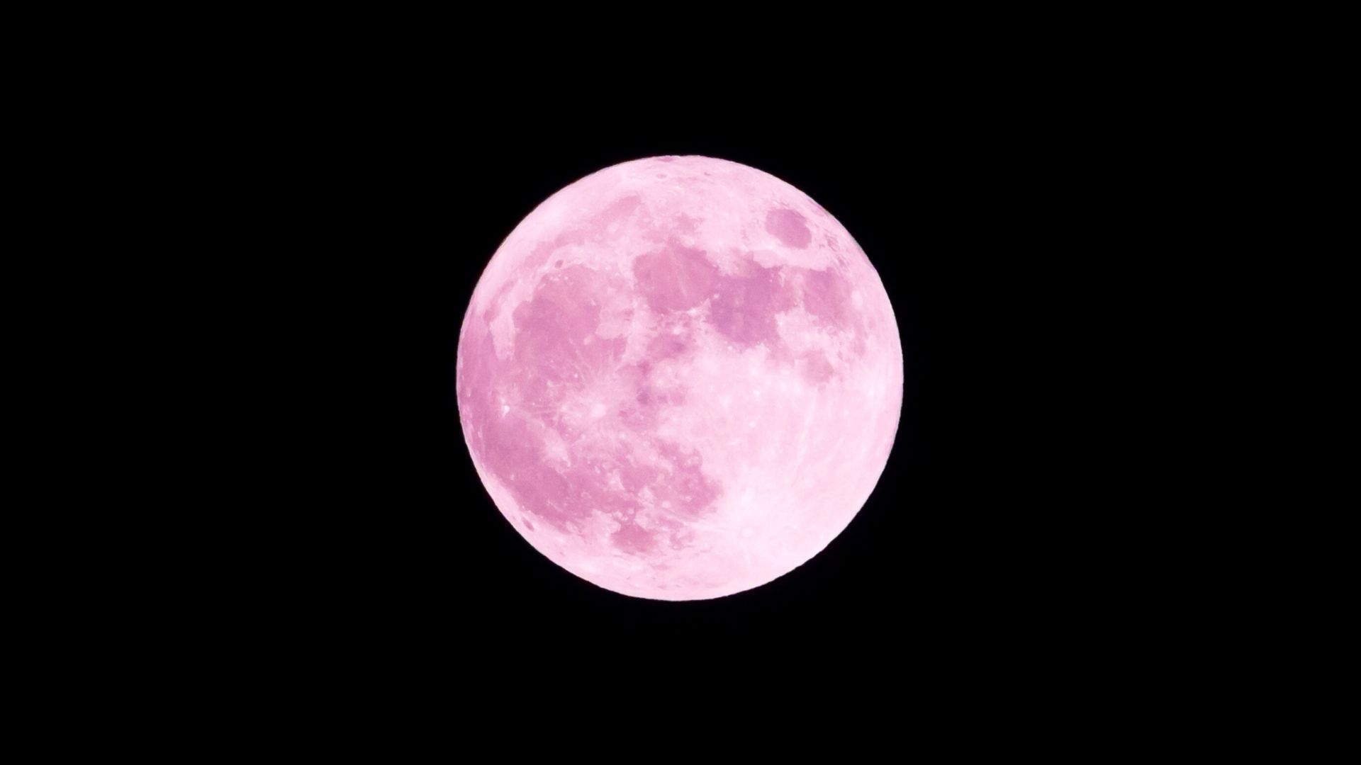 siêu trăng hồng ảnh hưởng đến cung hoàng đạo