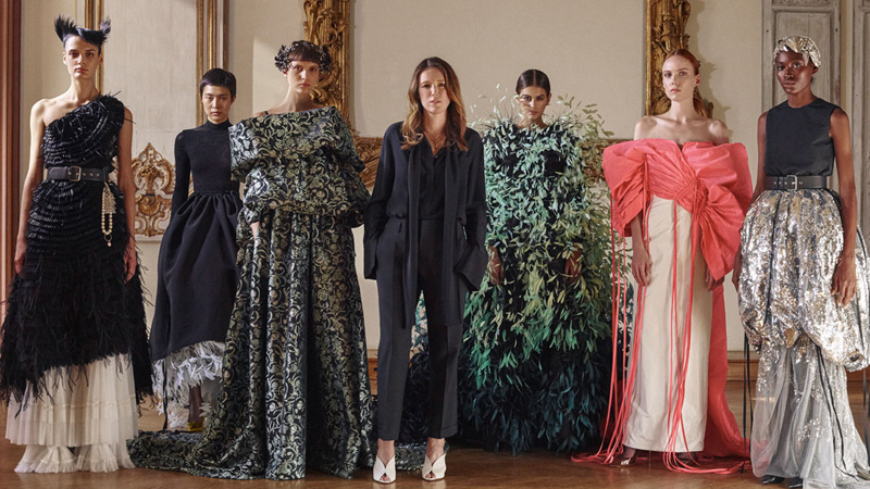ntk clare waight keller và bst givenchy haute couture 2019