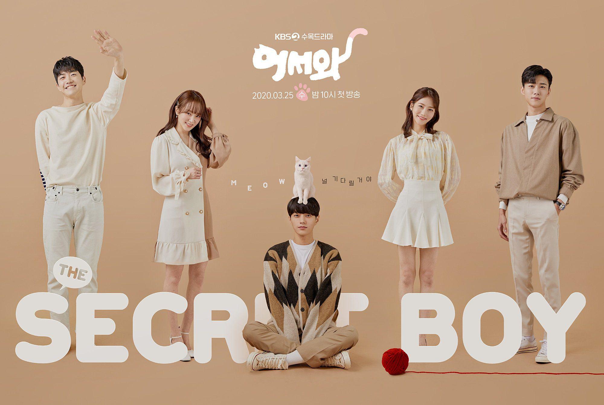 truyền hình Hàn Quốc Meow, Chàng Trai Bí Ẩn - Meow, the Secret Boy (2020)