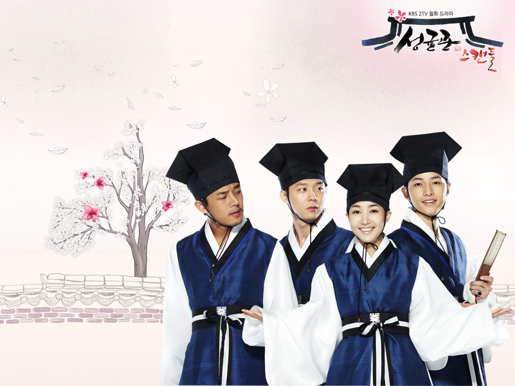 """dàn """"mỹ nam"""" của Chuyện tình Sungkyukwan"""