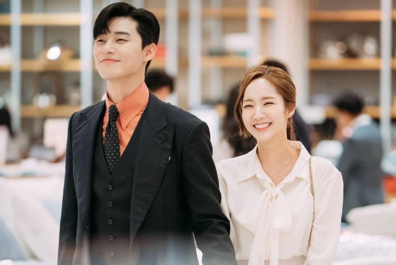 Park Min young và Park Seo Joon