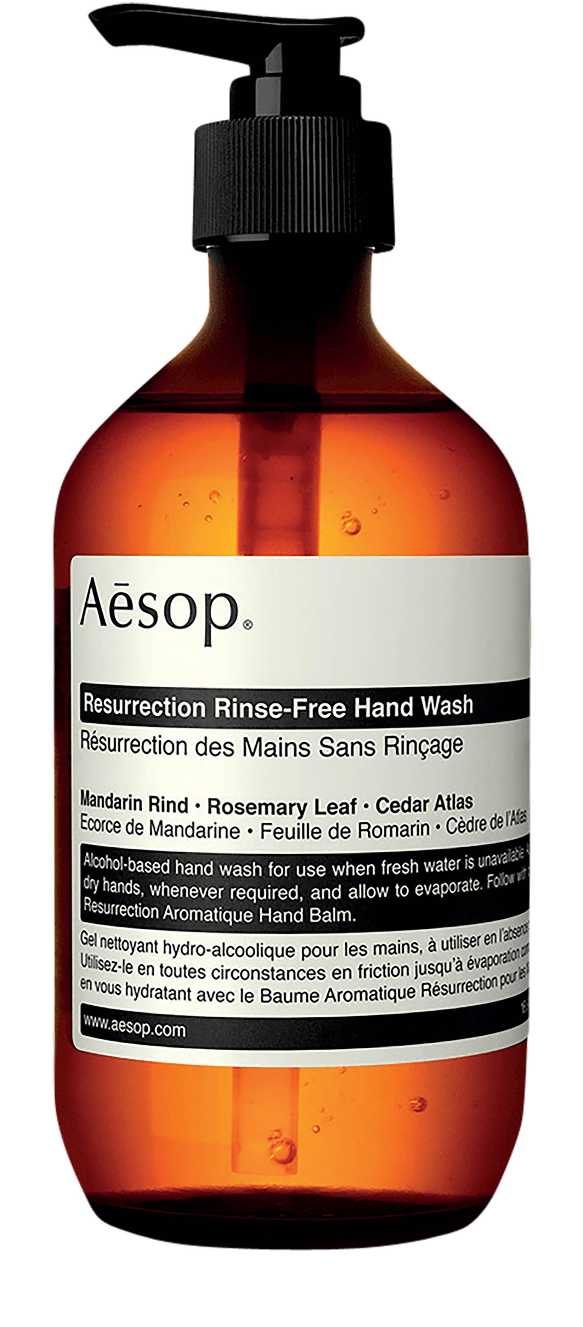 mỹ phẩm thuần chay nước rửa tay Aesop