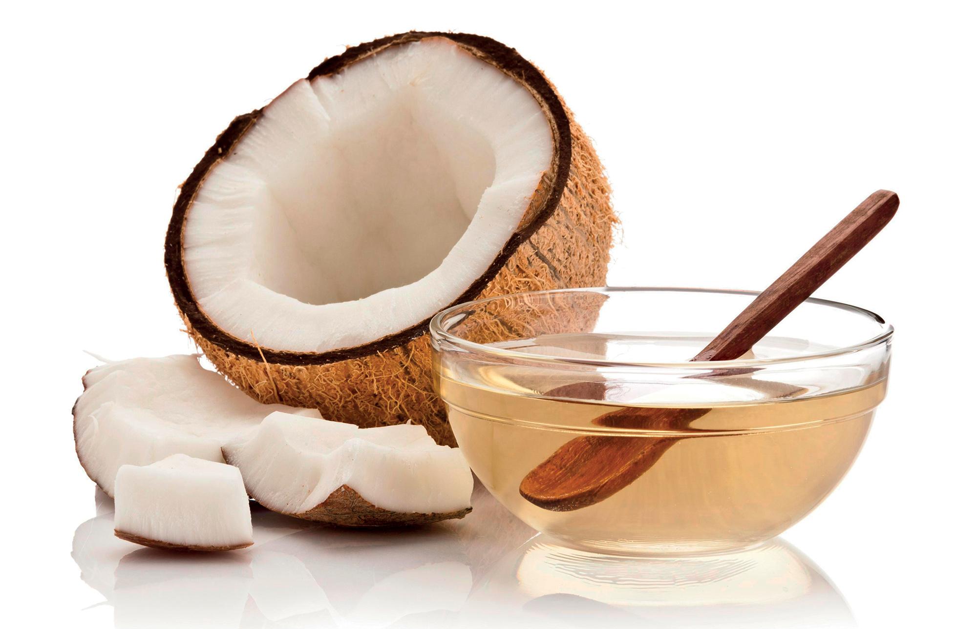 công thức làm đẹp súc miệng với dầu dừa