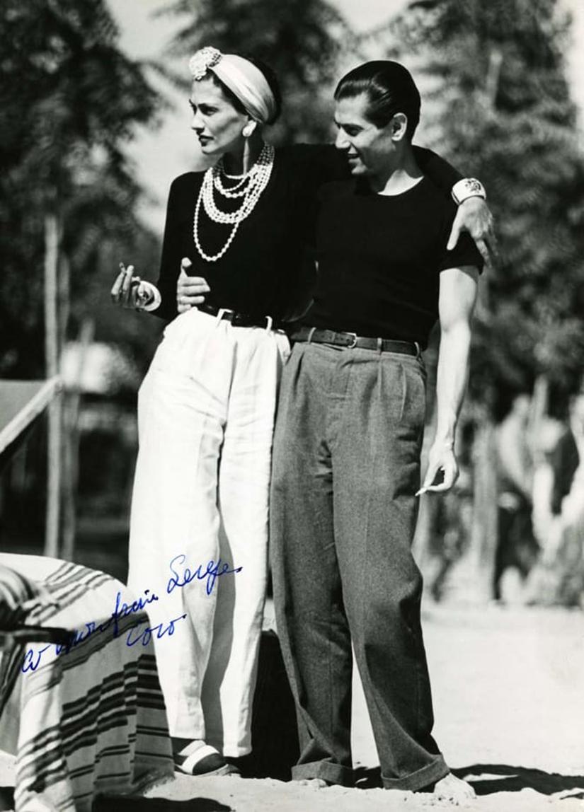 GABRIELLE CHANEL & SERGE LIFAR năm 1937