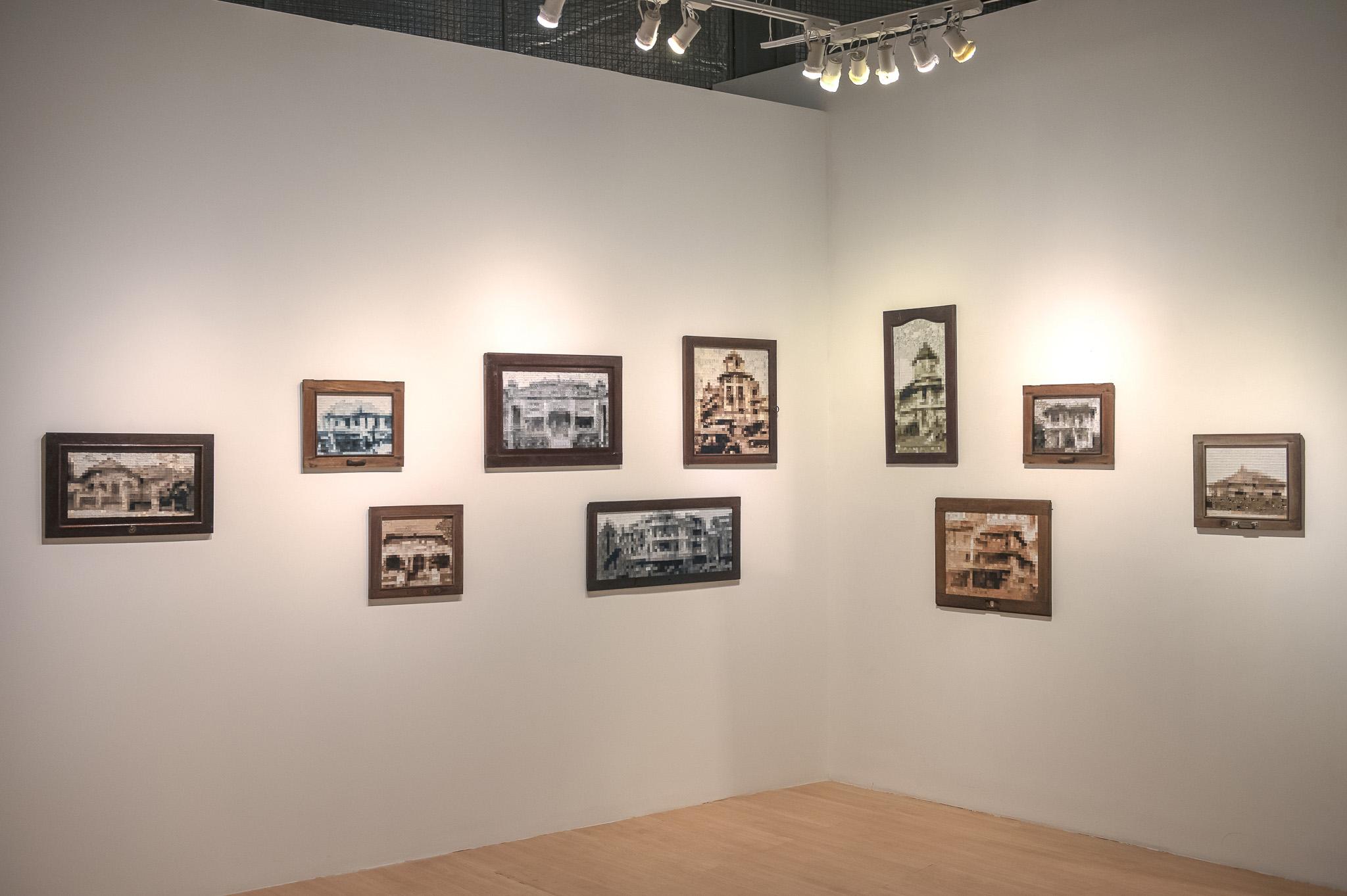 triển lãm về môi trường của Võ Trân Châu