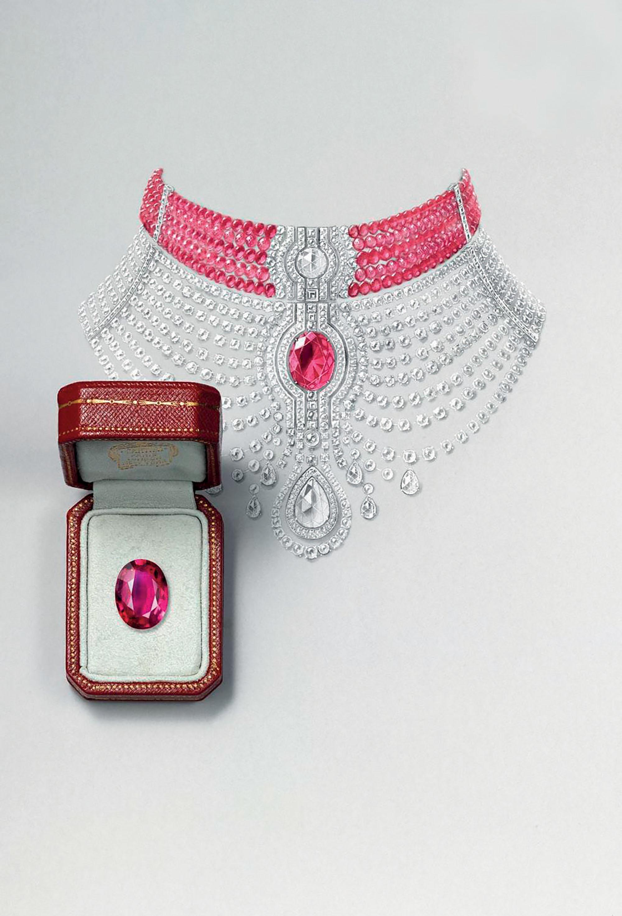 trang sức Royal Collection của Cartier