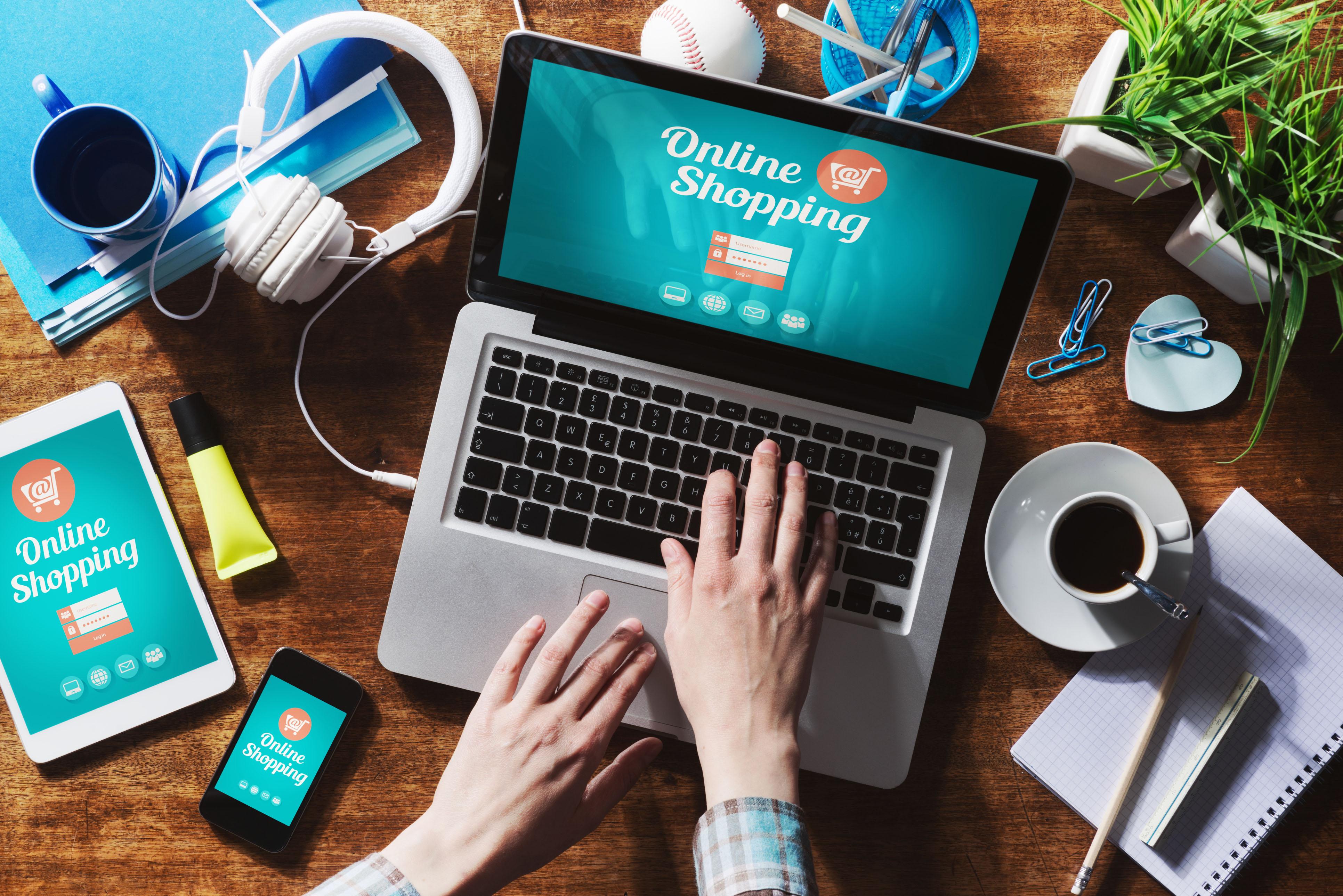 mua hàng online trong đại dịch