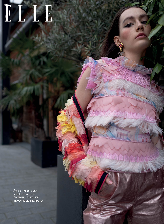 thời trang bền vững trang phục Chanel Falke