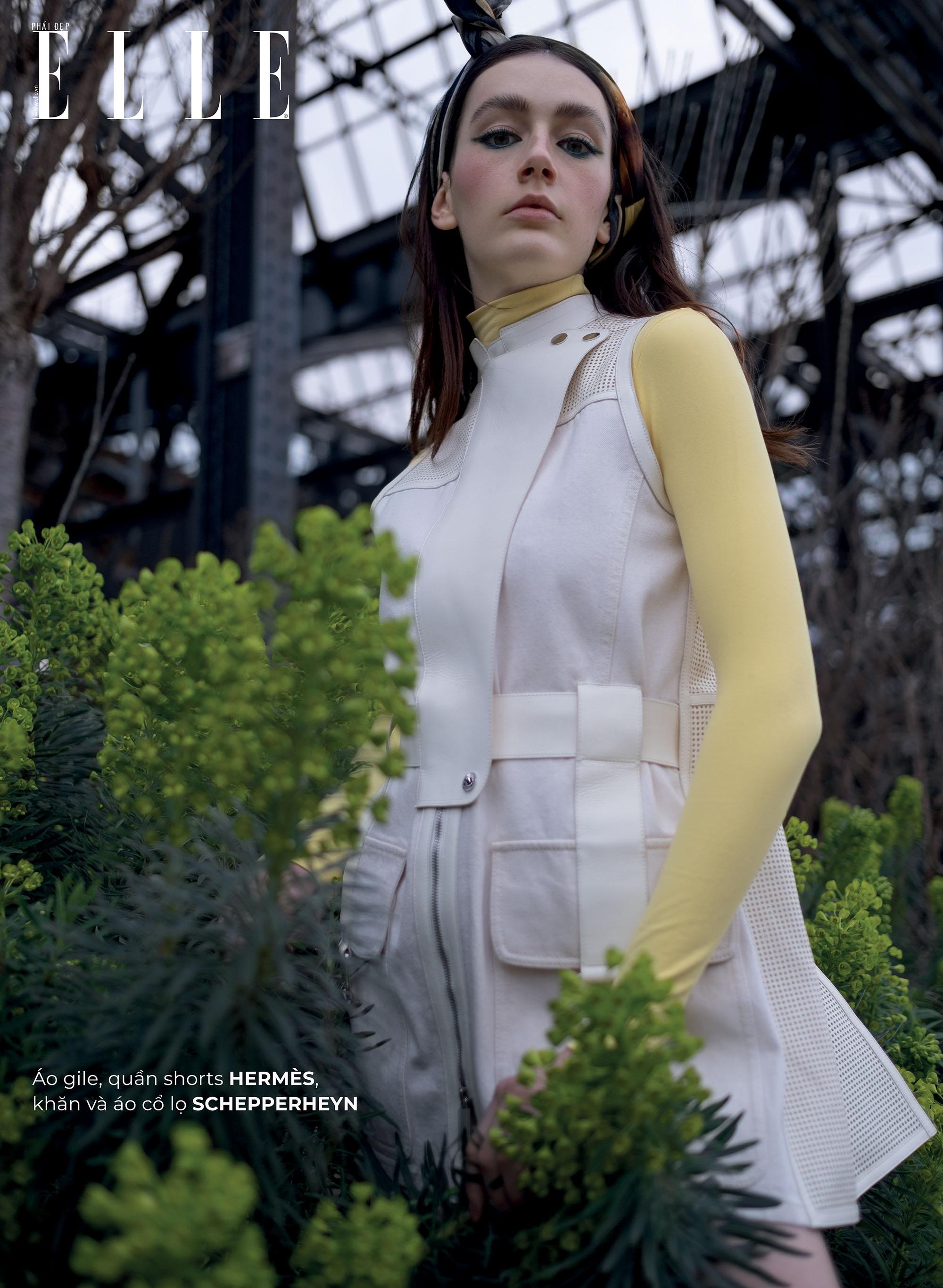 thời trang bền vững trang phục Hermès