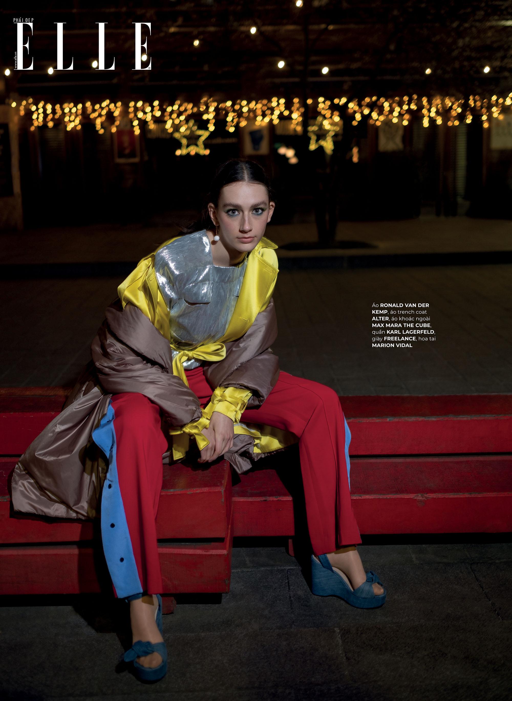 thời trang bền vững trang phục nhiều màu sắc Ronald Van Der Kemp