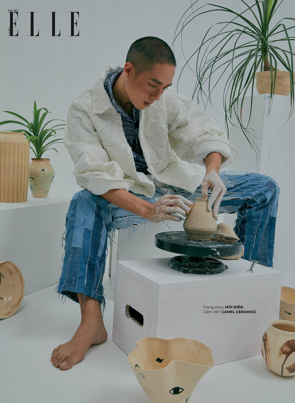 bộ ảnh thời trang gốm Camel Ceramics