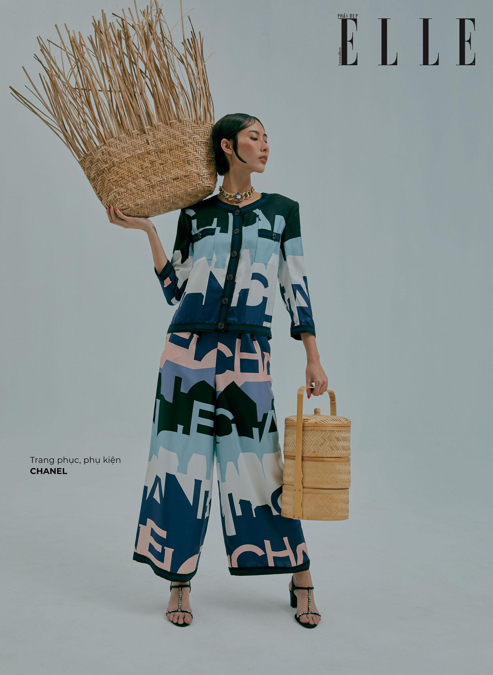 bộ ảnh thời trang trang phục Chanel