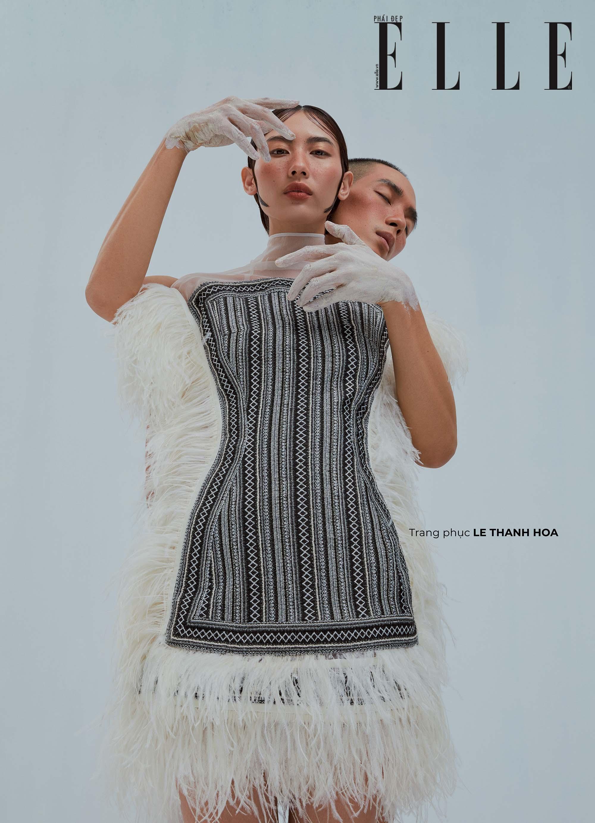 bộ ảnh thời trang trang phục Lê Thanh Hòa 2
